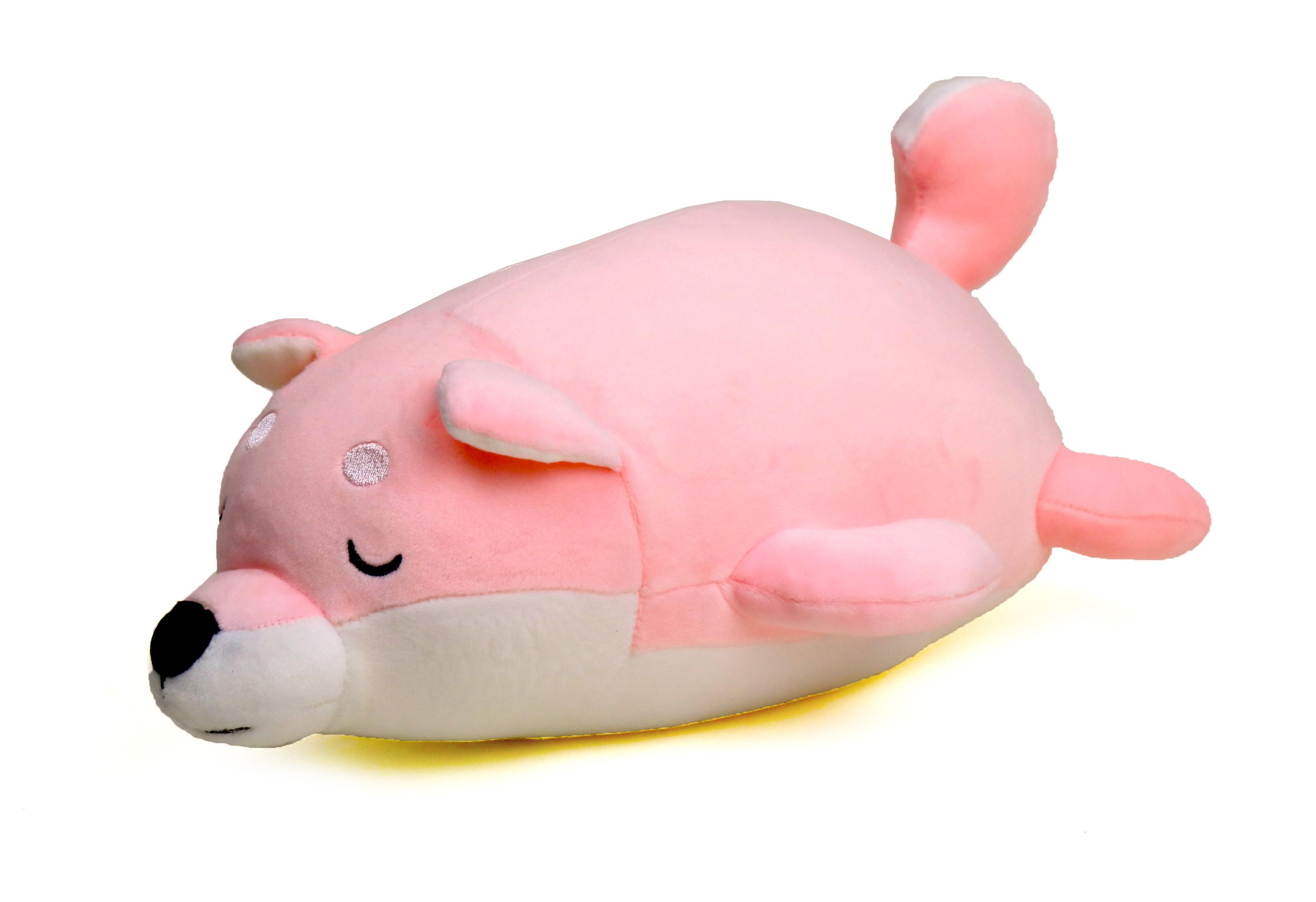 ตุ๊กตาหมาชิบะ ตัวนุ่มนิ่ม สีพาสเทล  ขนาด 30 ซม.