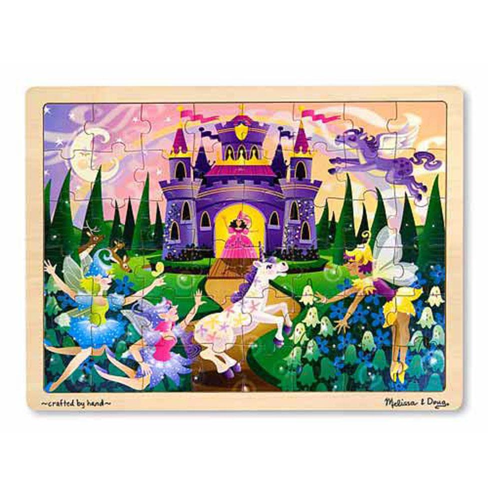 3804 จิ๊กซอ 48 ชิ้น รูปเจ้าหญิง ส่งเสริมการเล่นแบบมีสมาธิ แก้ไขปัญหา Fairy Fantasy Jigsaw Puzzle - 48 Pieces