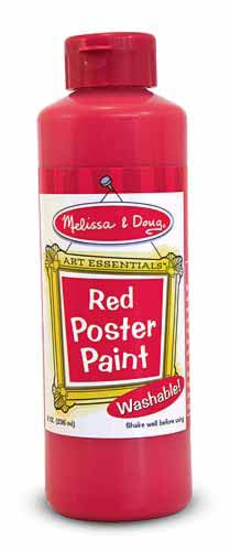 4137 Red Poster Paint (8 oz)