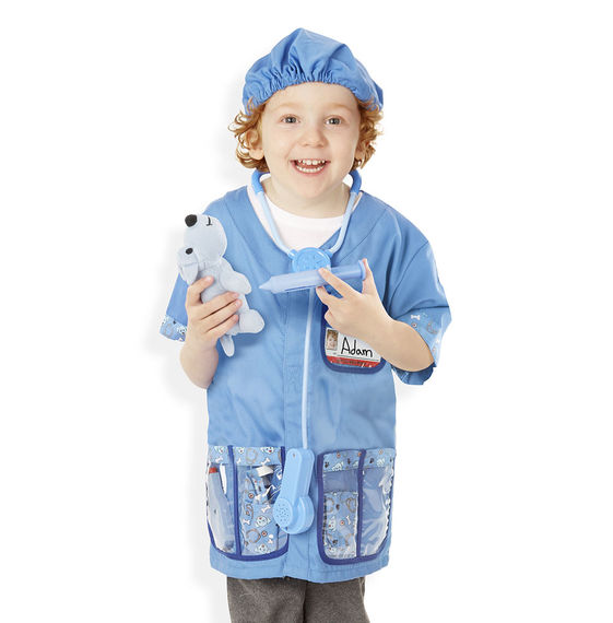 Melissa & Doug รุ่น 4850 Veterinarian Role Play Costume ชุดแฟนซีคุณหมอสัตวแพทย์ ส่งเสริมการรู้จักทำงาน รู้จักอาชีพ