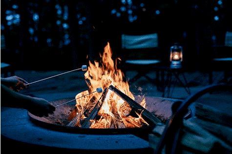 Start a BBQ fire