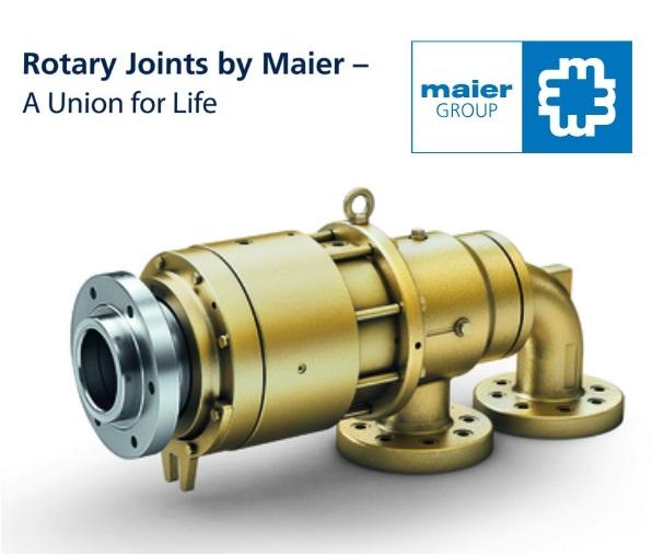 """MAIER"" ข้อต่อหมุน (Rotary Joints)"