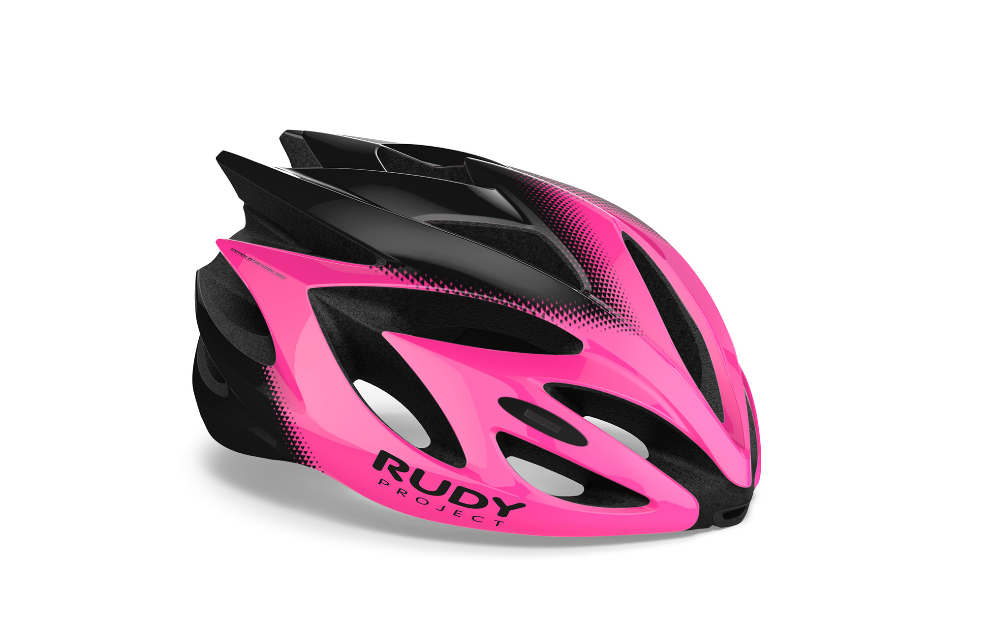 Rush Pink Fluo - Black Shiny