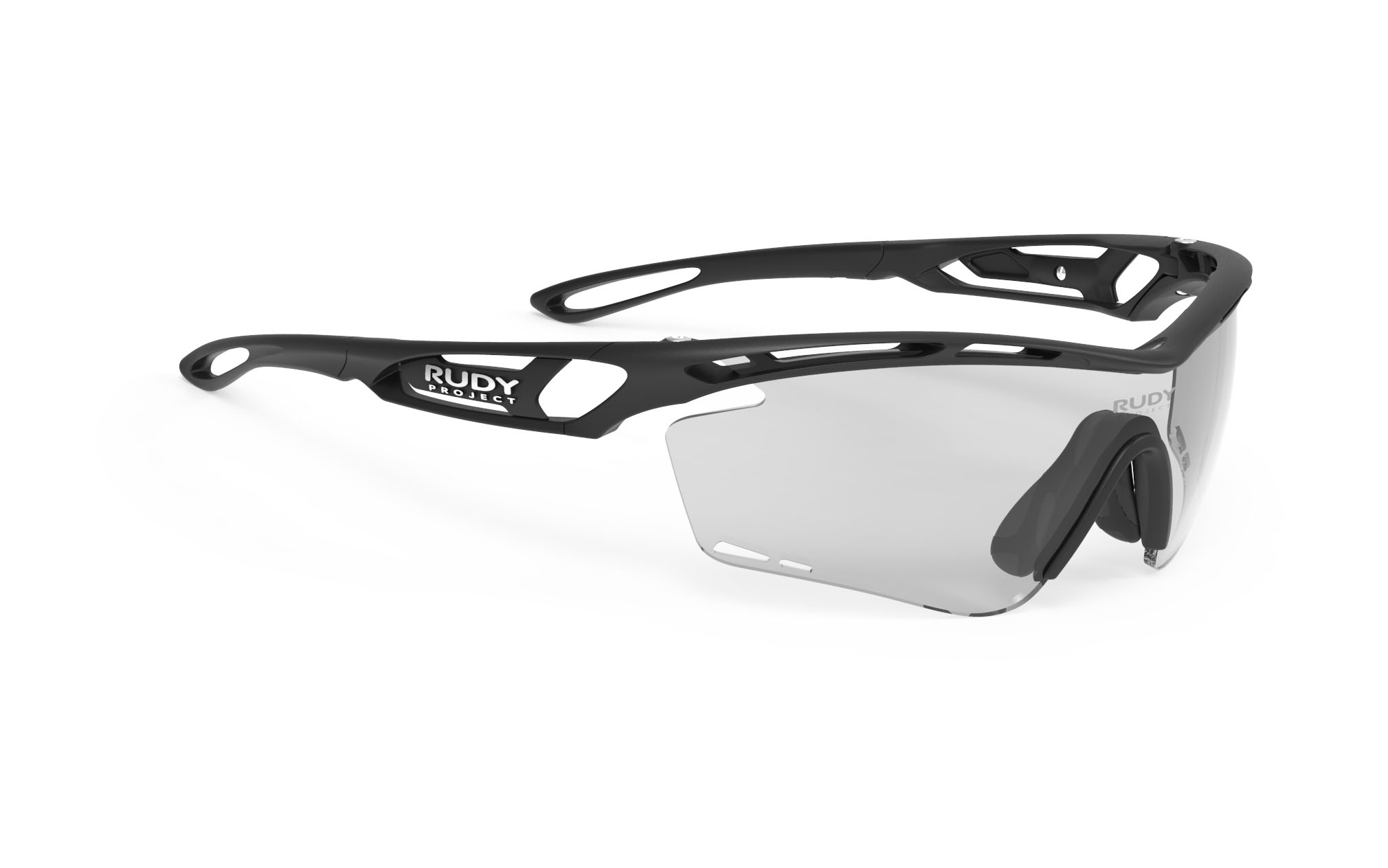 Tralyx Matte Black - ImpactX Photochromic 2 Laser Red