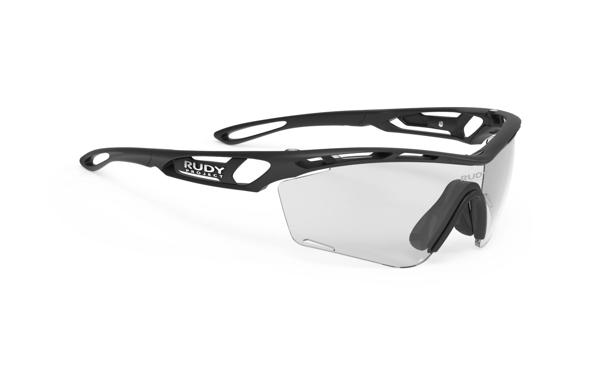 Tralyx SLIM Matte Black - ImpactX Photochromic 2 Black