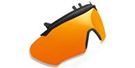 Boost01 Removable Flip - up Multilaser Orange