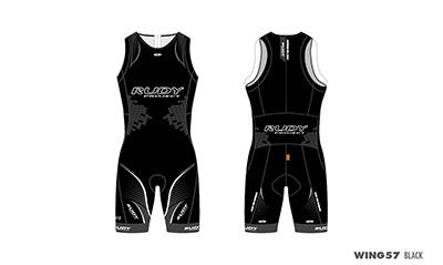 Triathlon Skinsuit Wing57 Black