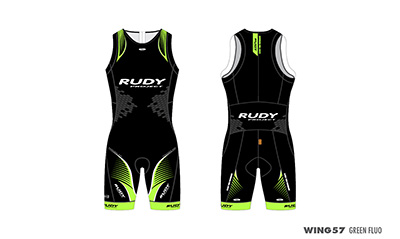 Triathlon Skinsuit Wing57 Green
