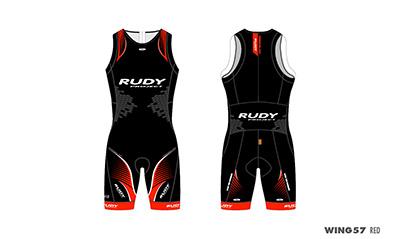 Triathlon Skinsuit Wing57 Red