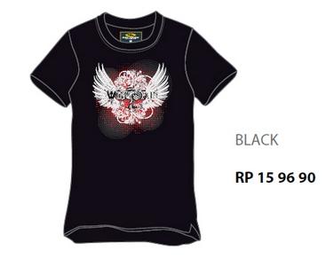 Wingspan T-Shirt Black