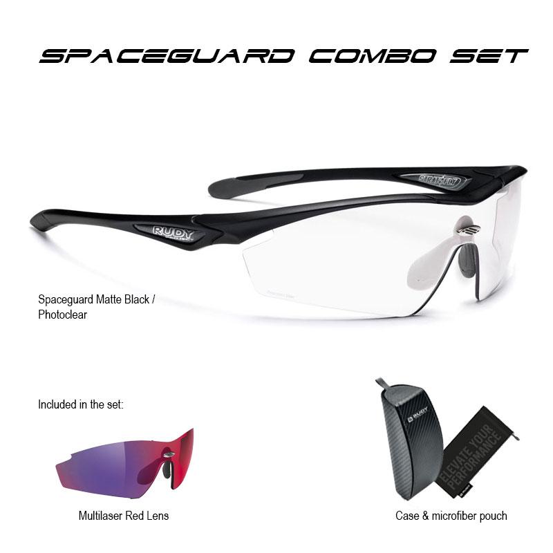 Spaceguard Matte Black Photo Clear Combo Set
