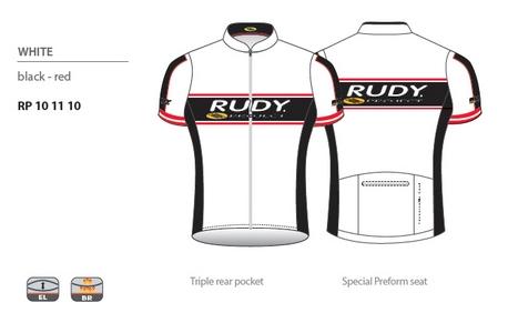 Racing Pro White Jersey