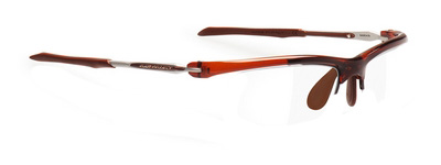 Frame Maya SUF Crystal Brown / Brown * ราคาเฉพาะกรอบแว่น ไม่รวมคลิปออนสายตา ( Frame only )