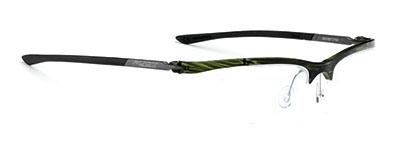 Frame Indyo SUF 05 Green Streaked / Black * ราคาเฉพาะกรอบแว่น ไม่รวมคลิปออนสายตา ( Frame only )