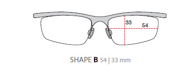 Indyo SUF Clip On - Shape B