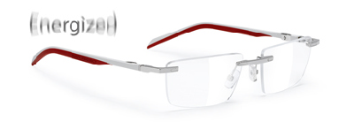 Spyllo Rimless A Chrome Grey / Bordeaux / Red