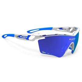 Tralyx XL White Gloss - Multilaser Blue