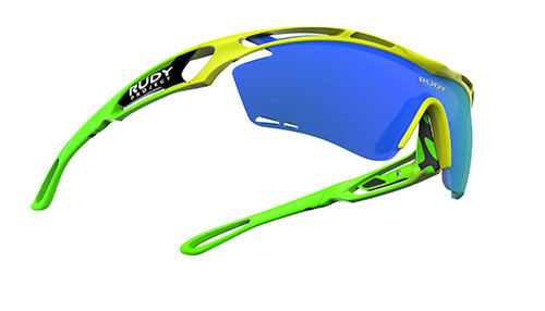 Tralyx FADE Rac Pro Yellow Fluo Gloss - Multilaser Blue