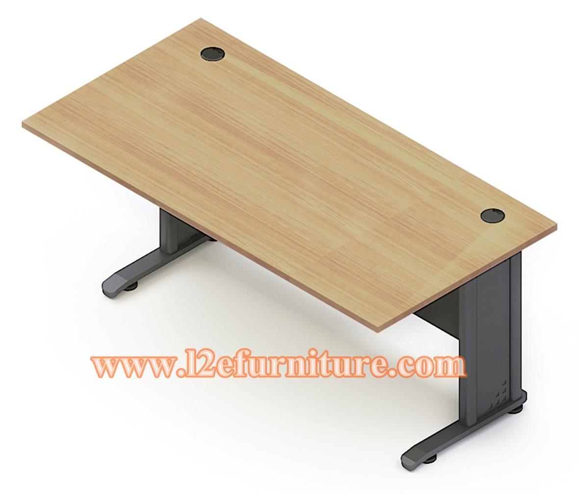 โต๊ะทำงานขาตัวแอล รุ่น L168