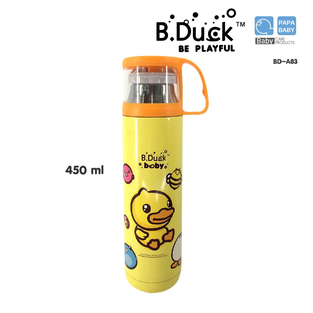 B.Duck กระติกน้ำสูญญากาศ ฝาปิดแก้วดื่ม รุ่น BD-Z33