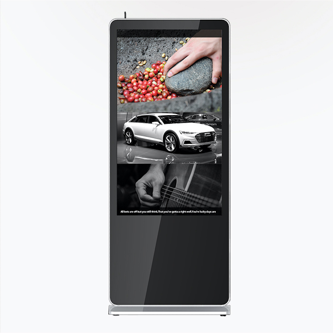 Digital Signage touch screen Android