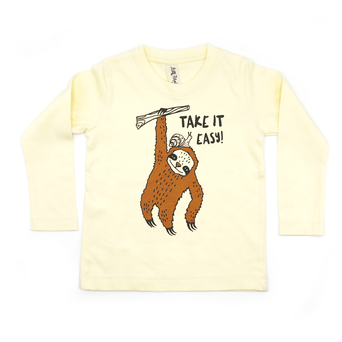 BABY/ KIDS / WOMEN / MEN LP0328 TAKE IT EASY CREW NECK LONG SLEEVE