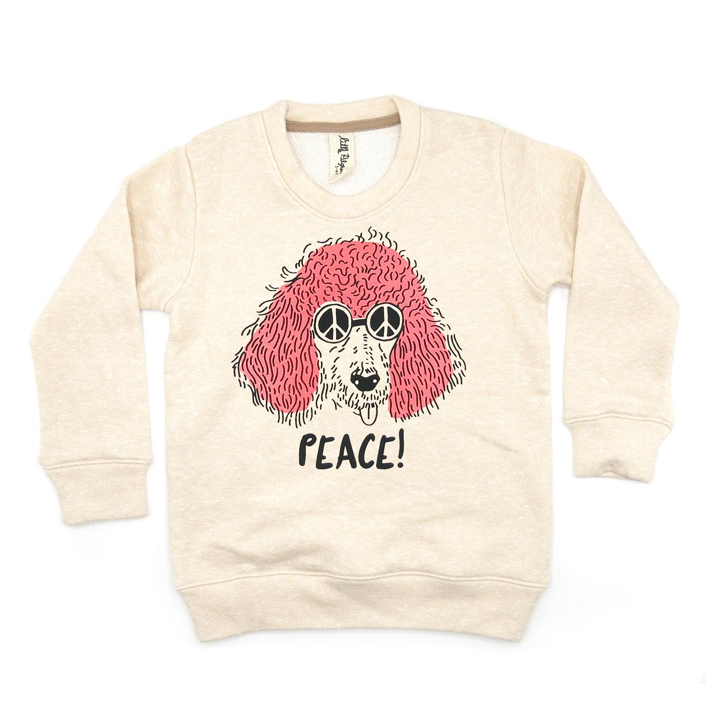 BABY/ KIDS / WOMEN / MEN LP03210 PEACE SWEATER