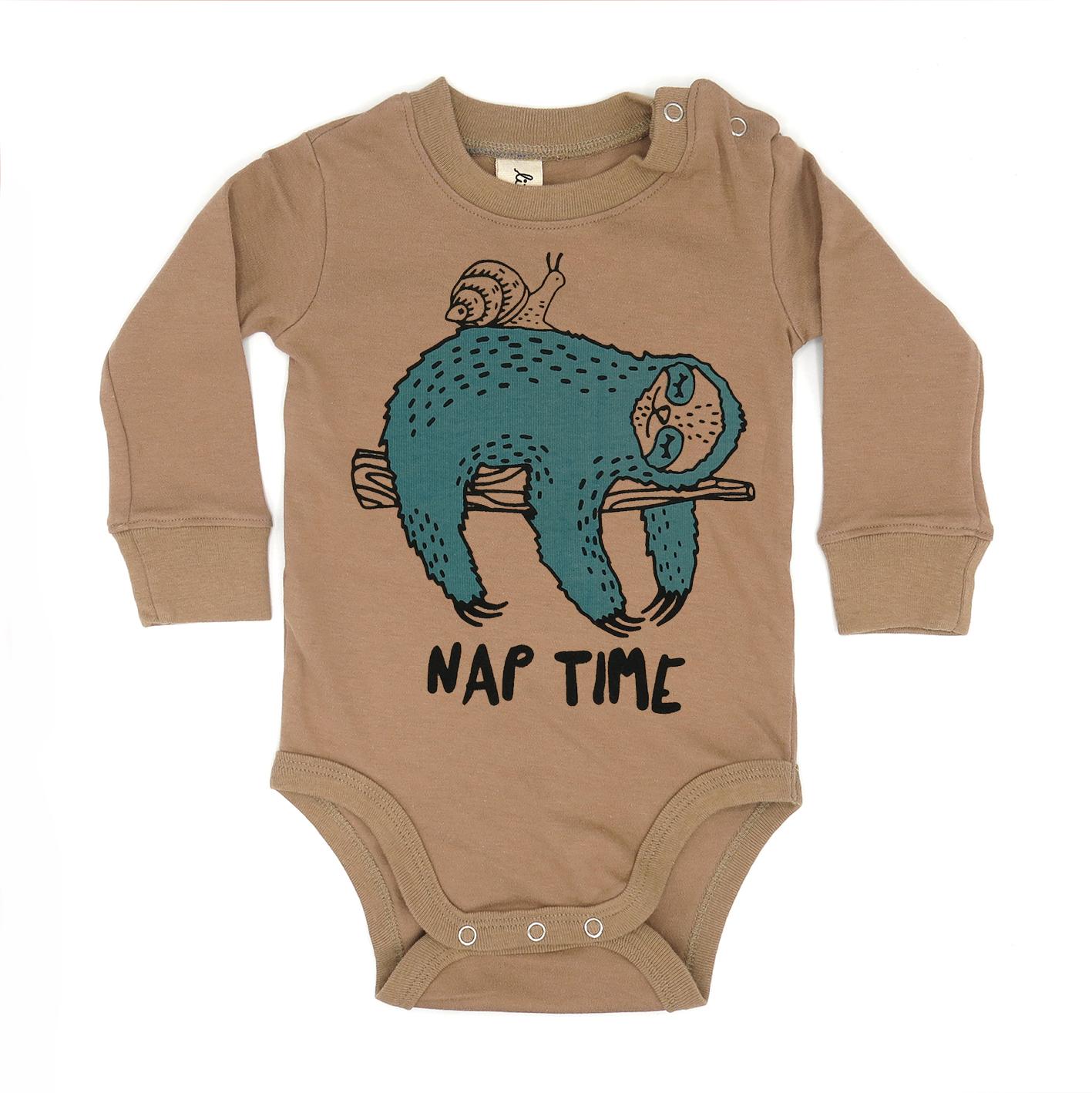 BABY 0-18M [C] LP0112 NAP TIME ONESIE