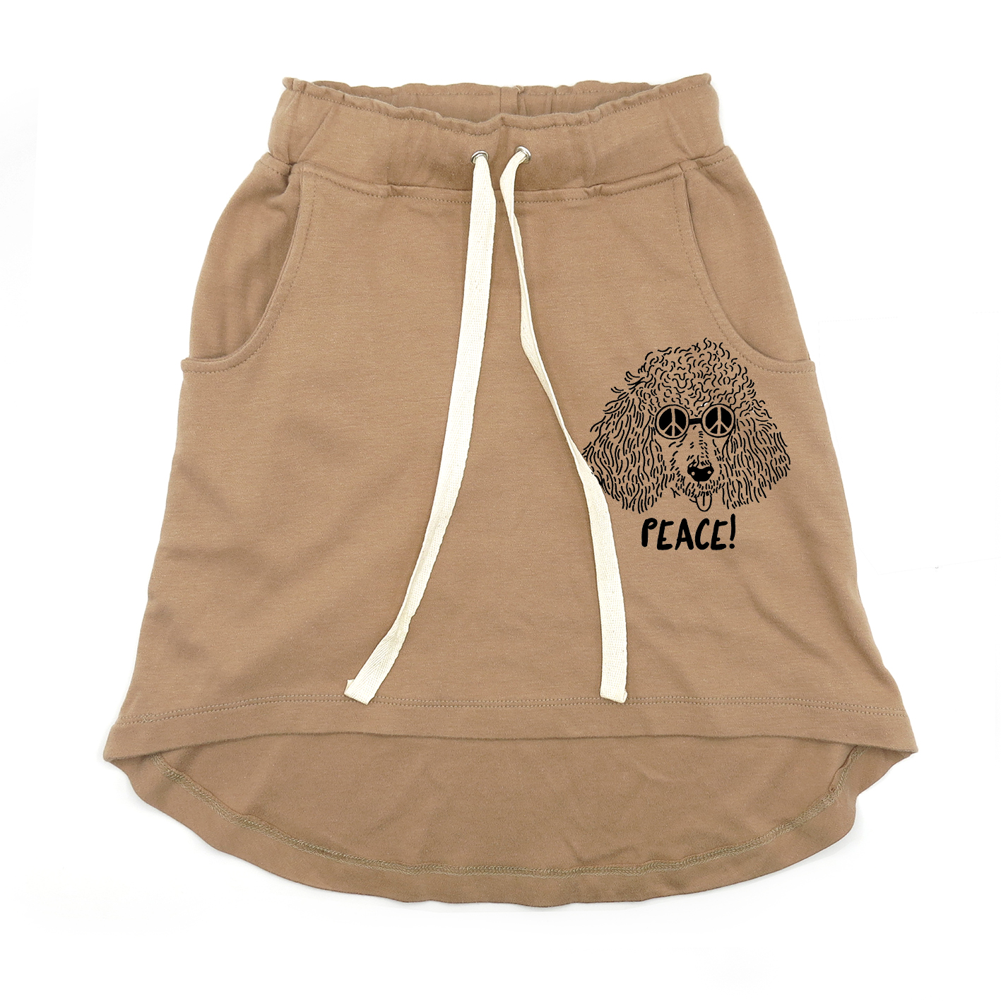 KIDS LP05177 [C] 1-7Y. PEACE KNEE SKIRT
