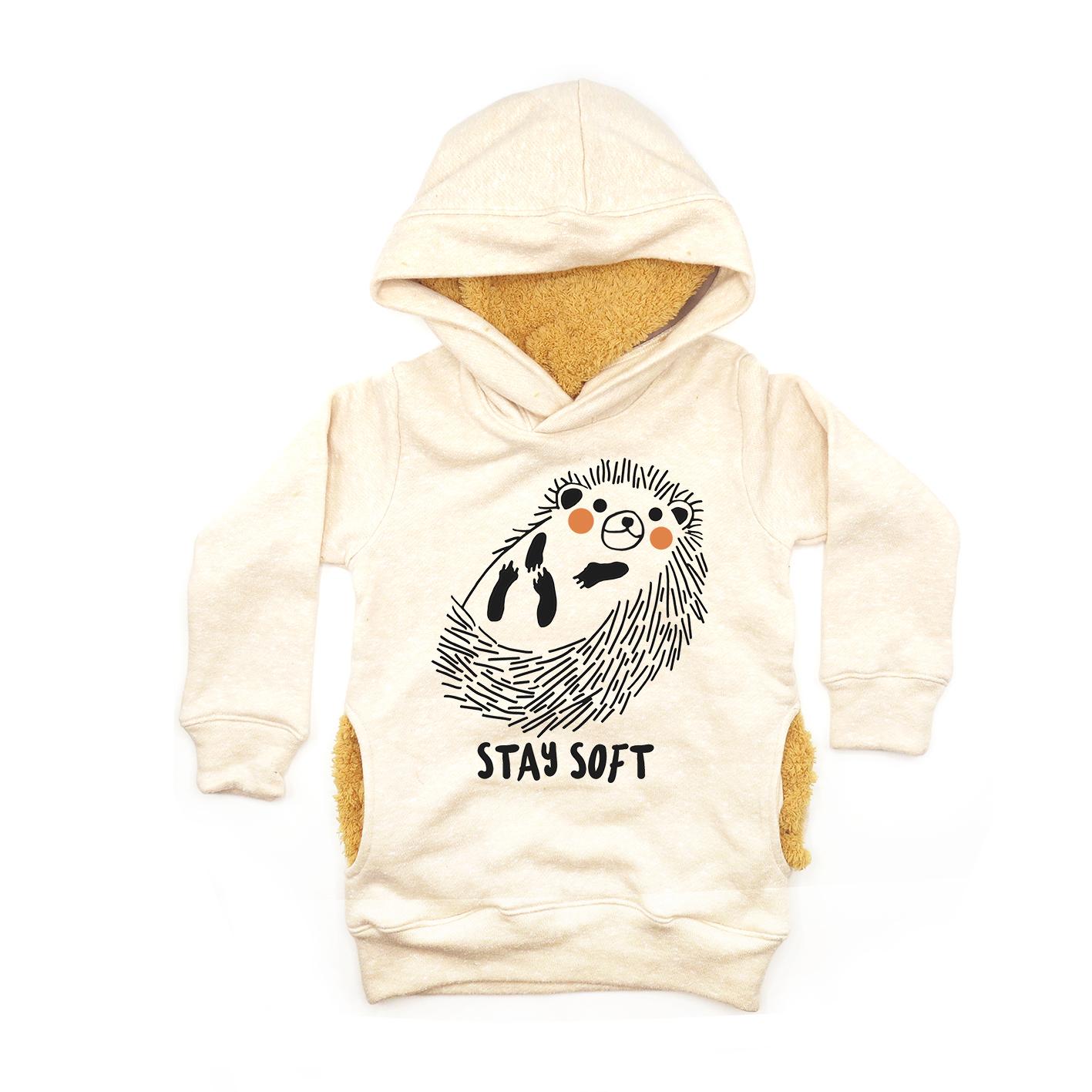 BABY & KIDS 3M.-7Y LP03102 STAY SOFT HOODIE SWEATER