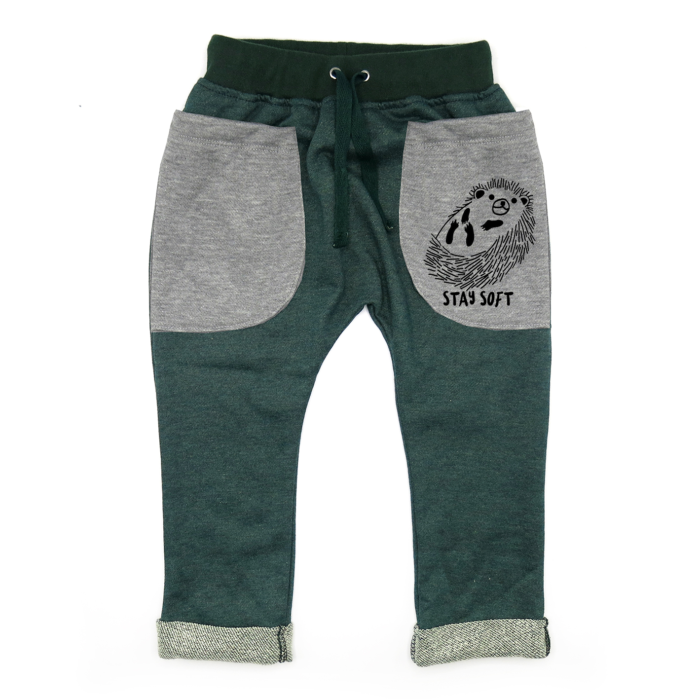 BABY&KIDS LP0570 [D] 0M.-7Y.STAY SOFT ROLL UP SLOUCH PANTS