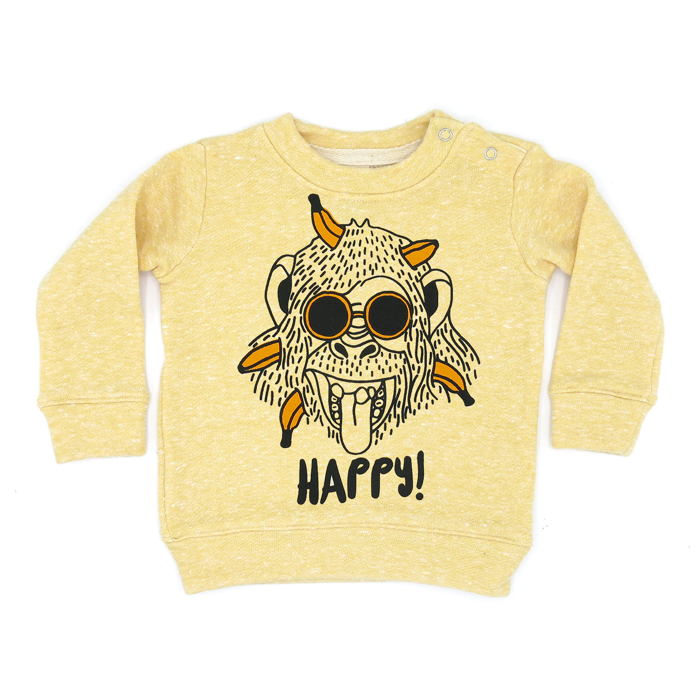 BABY/ KIDS / WOMEN / MEN LP03150 HAPPY MONKEY SWEATER