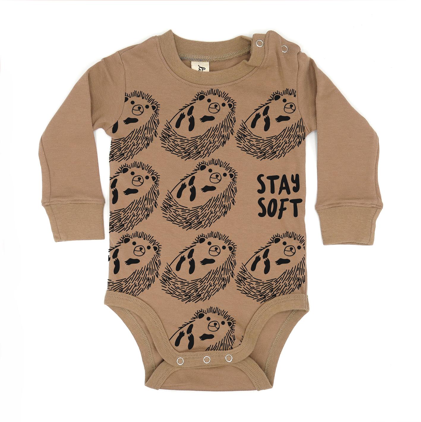 BABY 0-18M [B] LP0145 STAY SOFT ONESIE