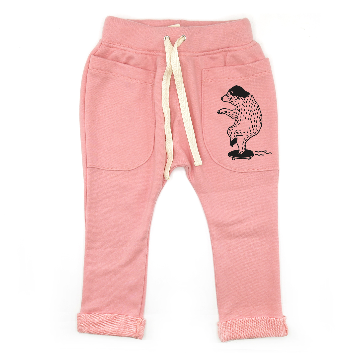 BABY&KIDS LP0596 [D] 0M.-7Y. LET'S ROLL / ROLL UP SLOUCH PANTS