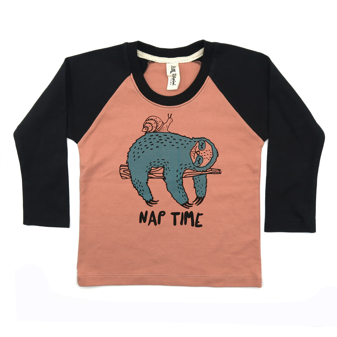 BABY/ KIDS / WOMEN / MEN LP0349 NAP TIME RAGLAN LONG SLEEVE