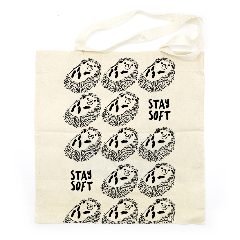 SAVE EARTH TOTE BAG AC0841 STAY SOFT