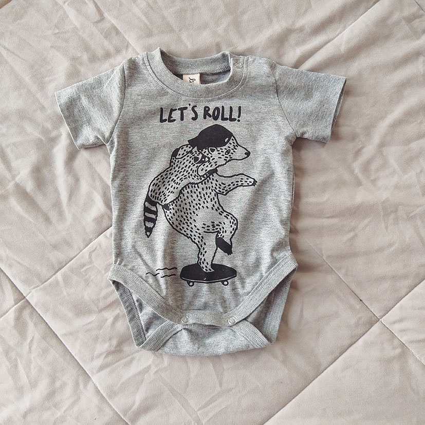 LET'S ROLL / 100% COTTON MARLE GREY