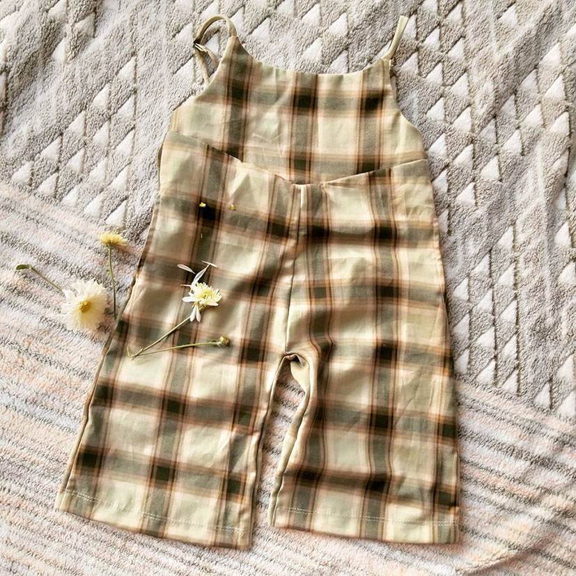 SAMPLE MADE FROM CHECK COTTON WOVEN