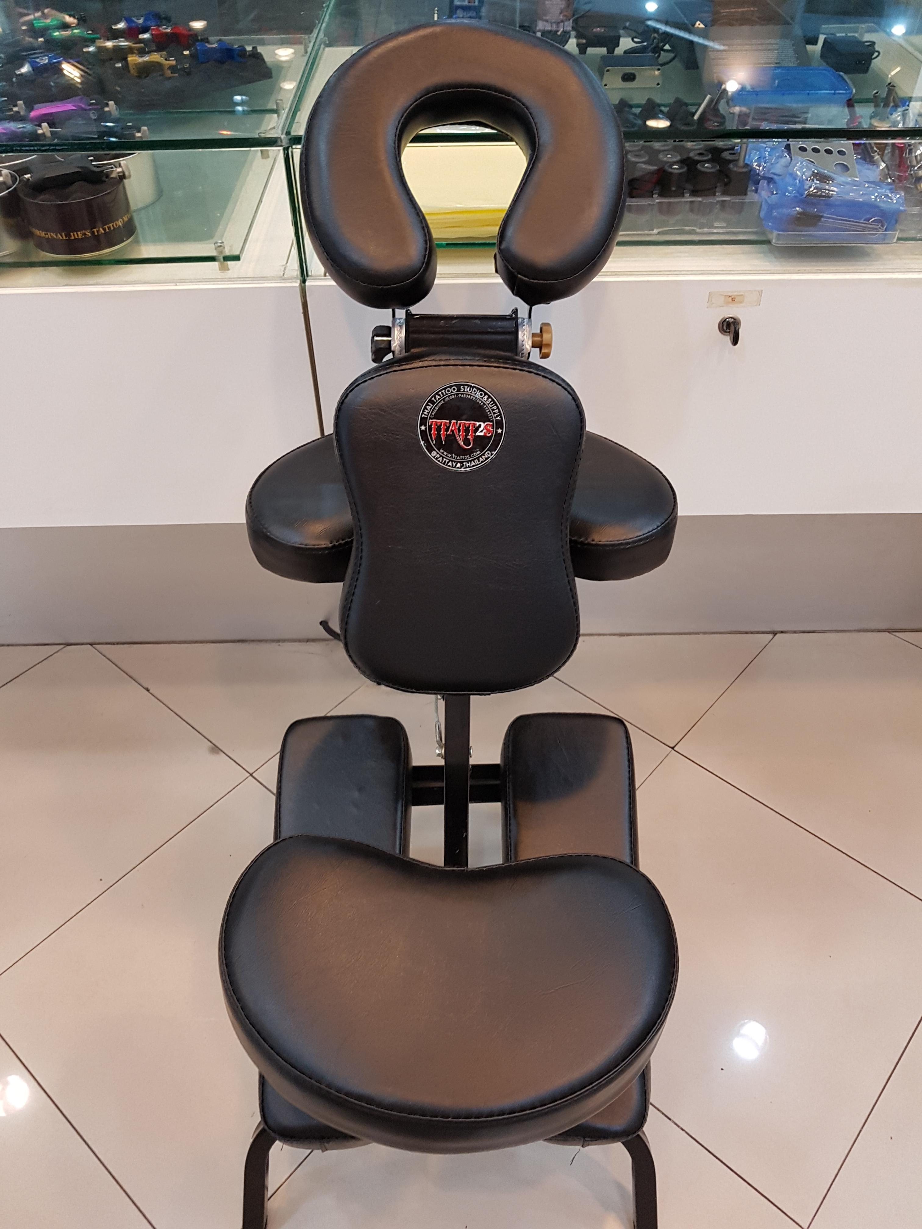 Back tattooing chair