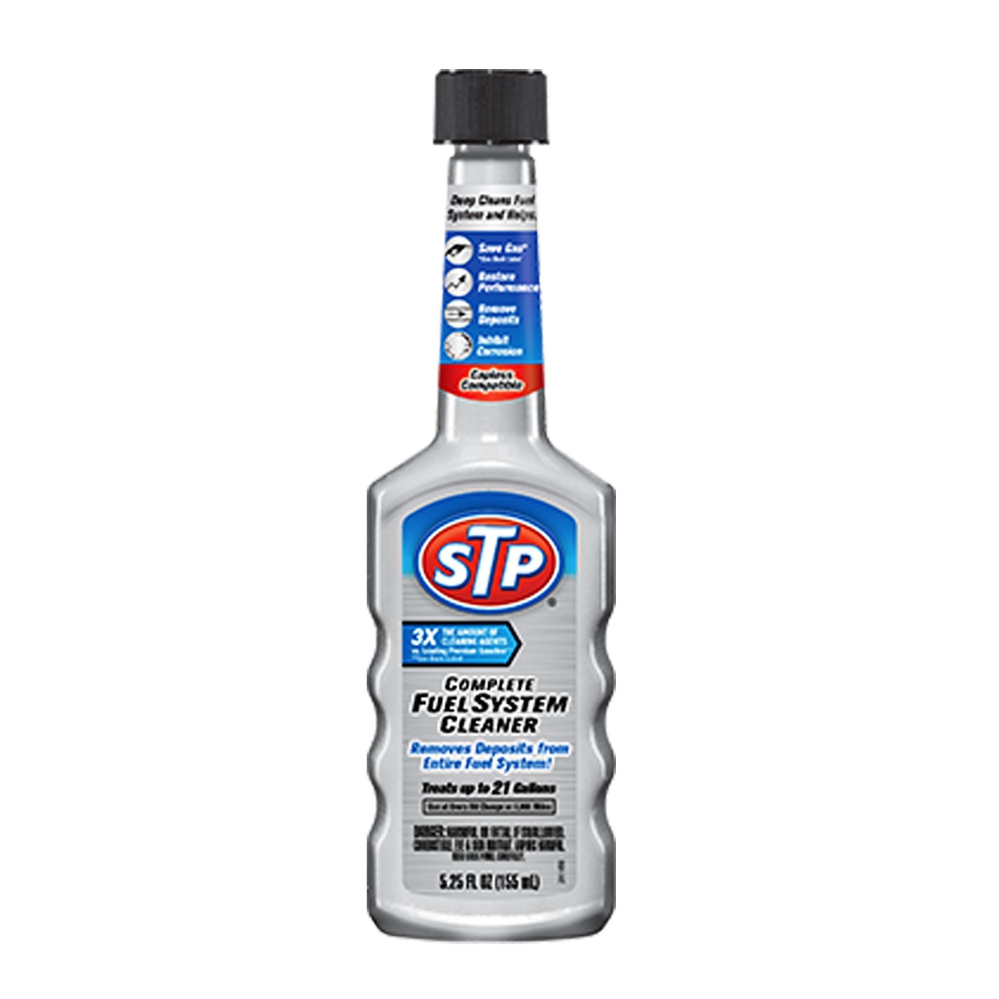 STP Complete Fuel System Cleaner น้ำยาล้างระบบเชื้อเพลิงเบนซิน