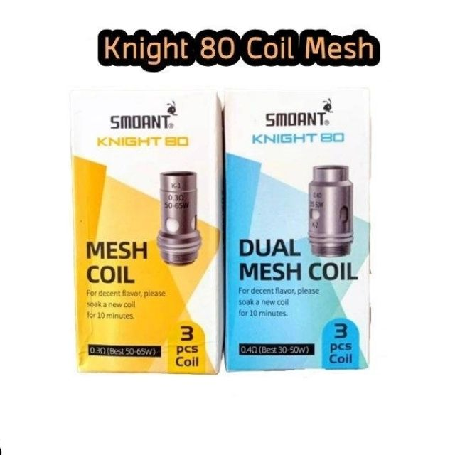 Smoant Knight 80 coil