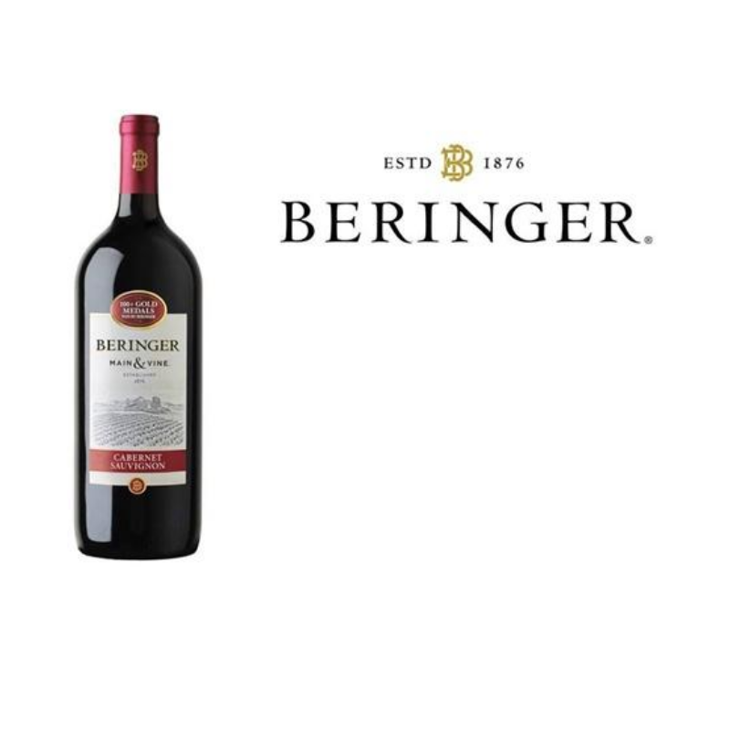 Beringer main&vine carbanet 750 ML