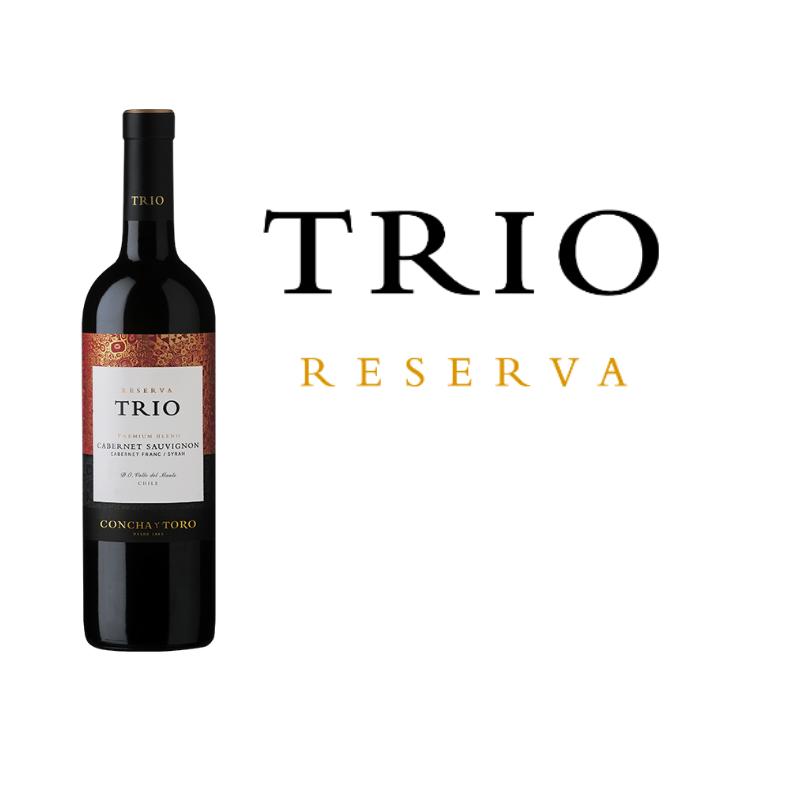 Concha Y Toro Trio - Cabernet Sauvignon / Cabernet Franc / Shiraz