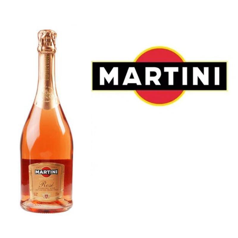 MARTINI & ROSSI ASTI ROSE 750ML