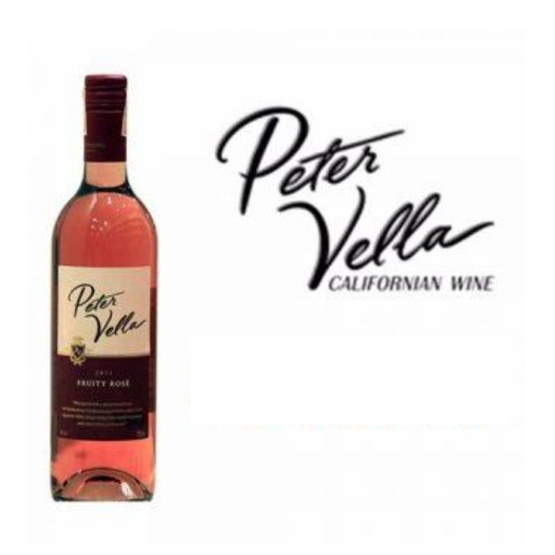 PETER VELLA Fruity Rose 75cl.