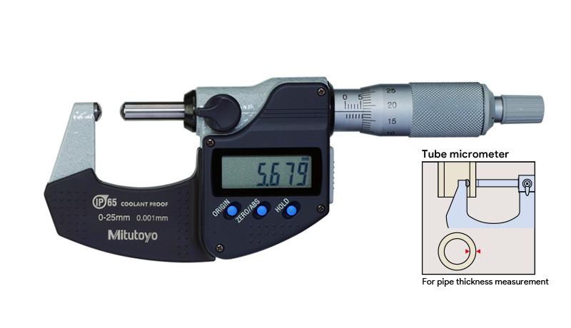 Digital Tube Micrometer (Mitutoyo)