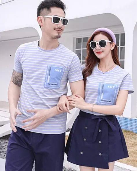 เซตคู่รักสีฟ้ากรม