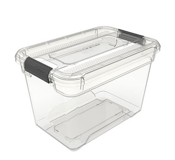 กล่องเก็บของเอนกประสงค์ แบบใส Solutions  รุ่น 4111