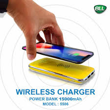 Powerbank Wireless Charger รุ่น BLL -5506