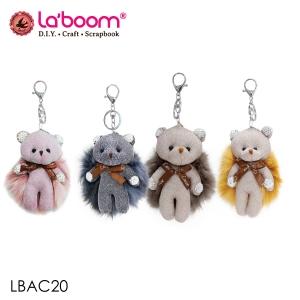 ตุ๊กตาพวงกุญแจตกแต่ง laboom รุ่นLBAC20